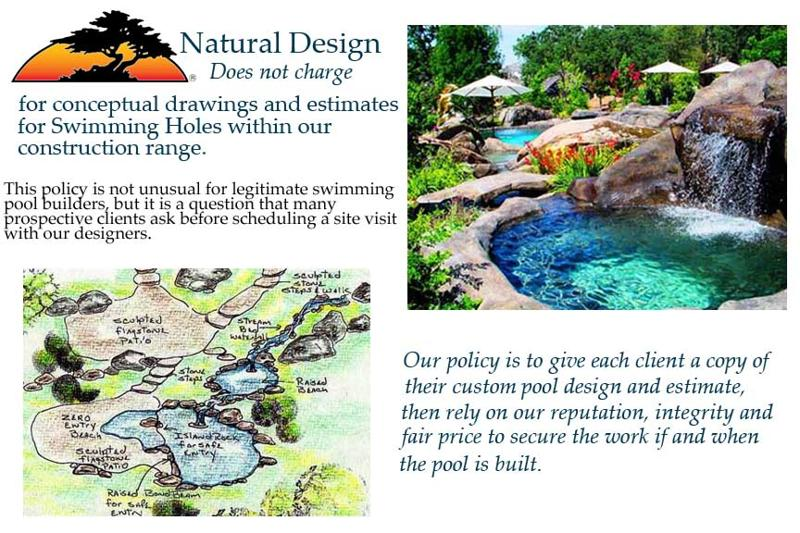 Design Swimming Holes offers free swimming pool design and estimates ...