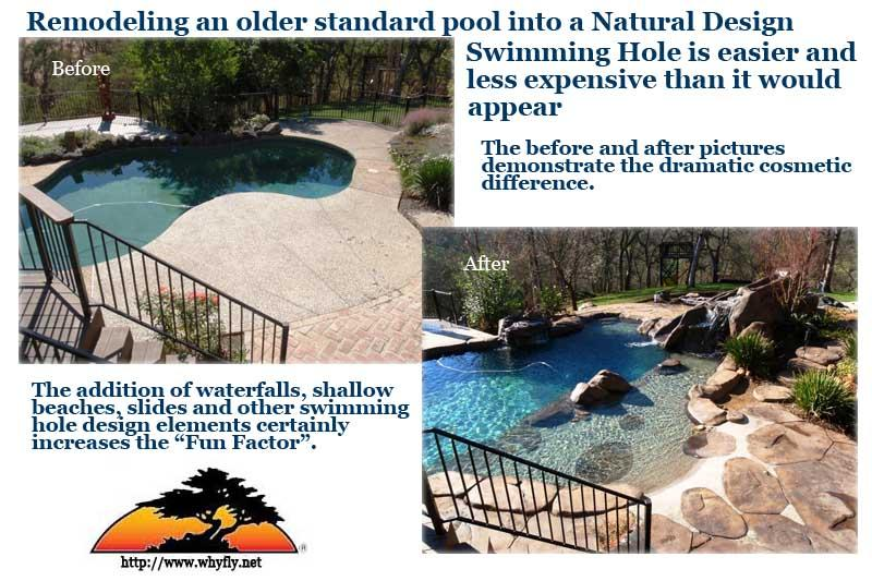 Remodel your traditional swimming pool and create a new and exciting ...