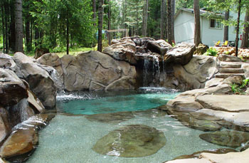 Beautiful Natural Design Pools Contemporary - Interior Design ...