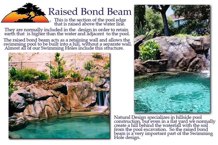 How To Design And Build Swimming Pools On Un Level Ground In Sloping Yards And Hillsides By