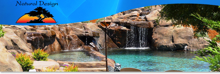 Natural Design swimming pool and landscape design photos and ...