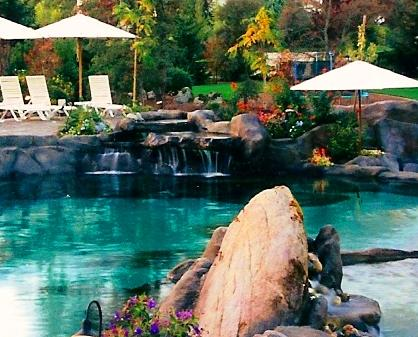 natural looking in ground pools. Custom Residential Swimming Pools Built With Our Naturalistic Look Is  Primary Focus Today Natural Looking In Ground O